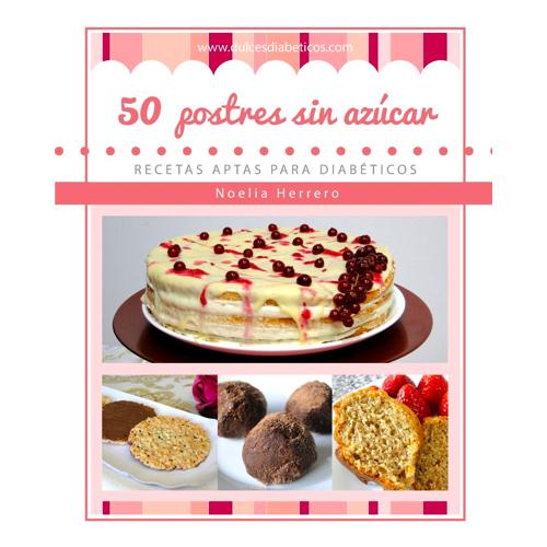 50 postres sin azúcar