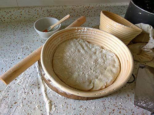 Banneton para hacer pan en familia