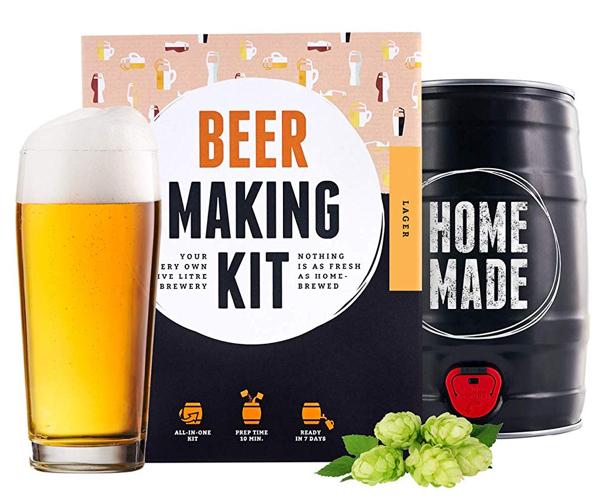 kit de cerveza para regalos de Navidad para hombres