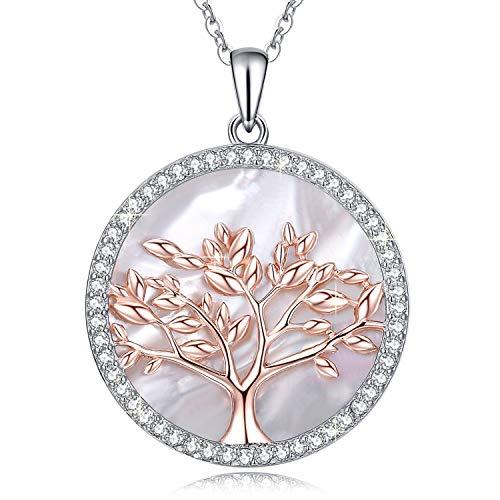 Collar árbol de la vida de plata