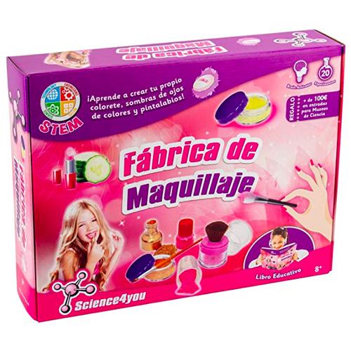Fábrica de maquillaje para niñas Navidad