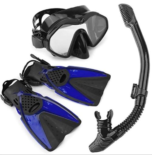 kit de snorkel que llevar en la maleta para el caribe