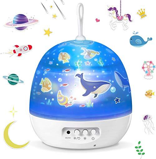 Lámpara proyector bebé
