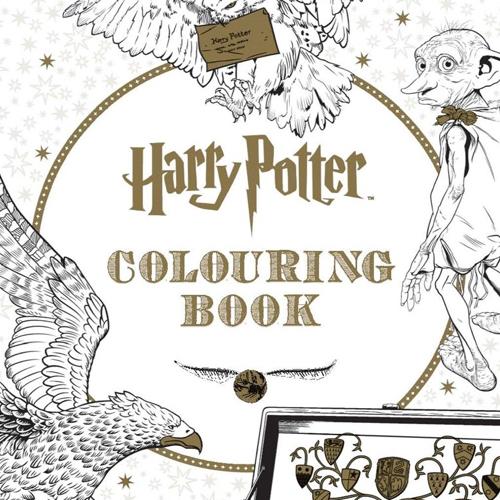 Libro Harry Potter colorear niñas