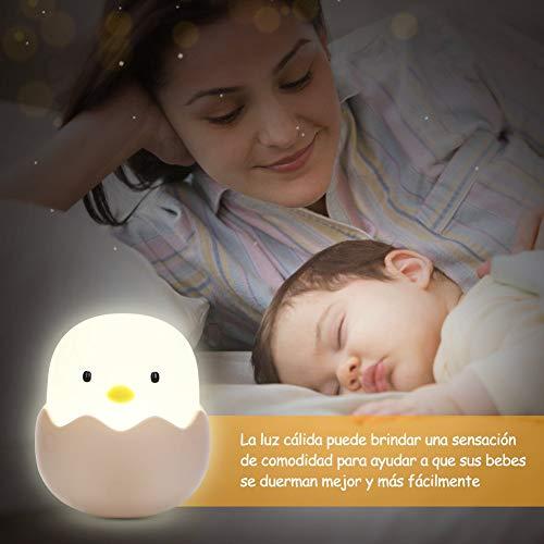 Luz bebé nocturna