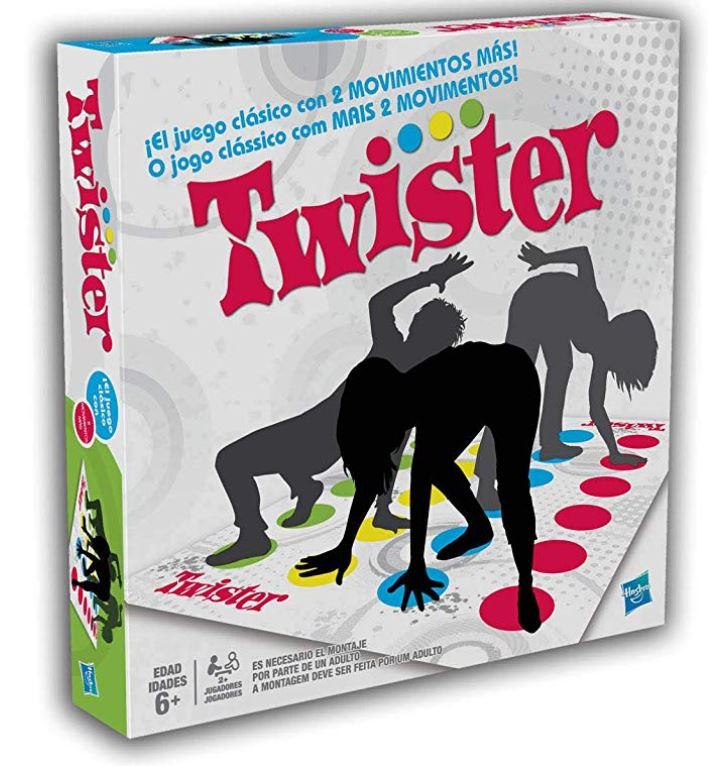 twister, juego para regalar en Navidad a niños de 7 a 11 años